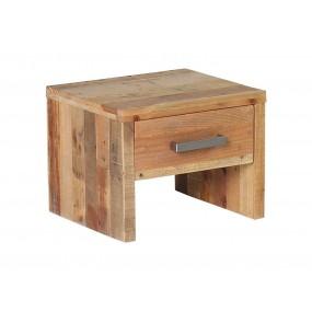 Borovicový noční stolek Albus