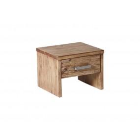 Dřevěný noční stolek z akátu Albus