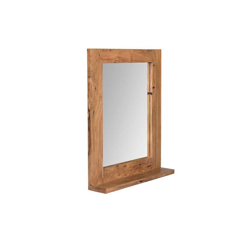 Zrcadlo z masivního akátu Wellington