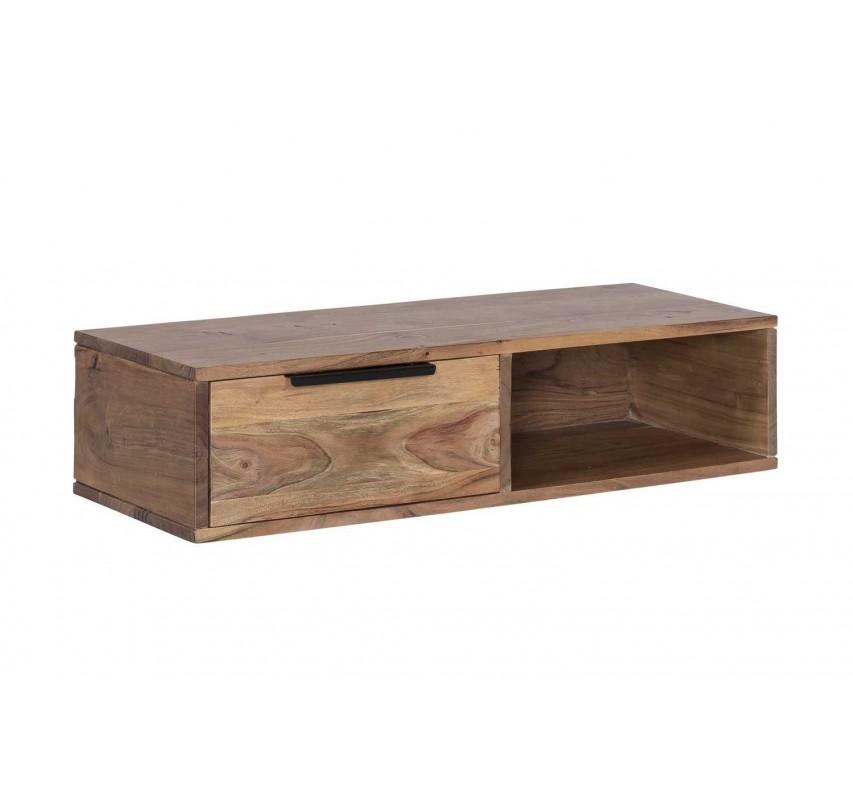 Police z akátového dřeva Darley