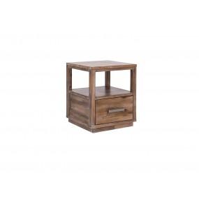 Noční stolek z akátového dřeva Canterburry