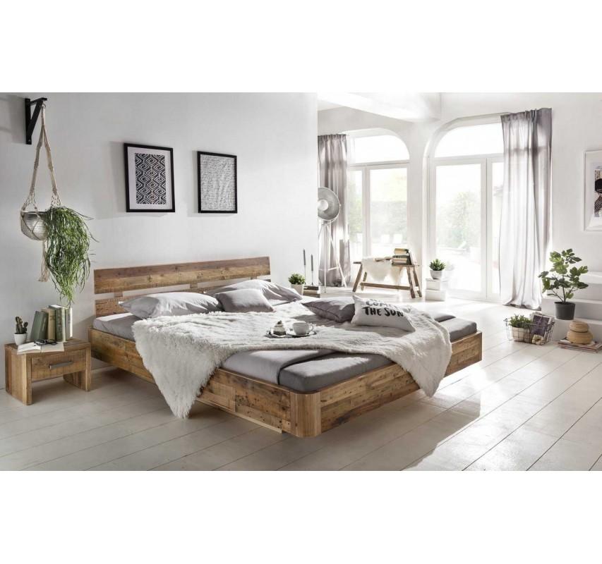 Akátová postel Darryl 180x200