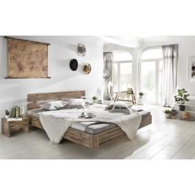 Dřevěná postel Darryl 180x200