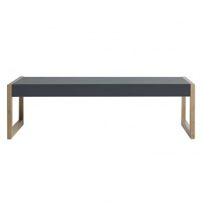Konf. stolek Derrick - šedý