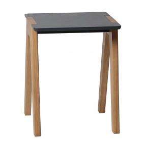 Šedá stolička Van
