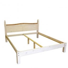 Dřevěná postel z masivu Mexiko