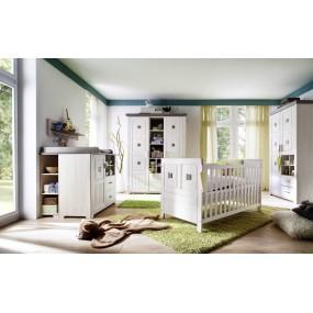 Široká dětská skříň Malmo