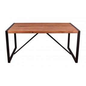 Jídelní stůl s kovovýma nohama Kalista