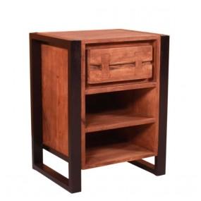 Palisandrový noční stolek Kalista