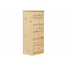 Dřevěná komoda z borovice Pinia