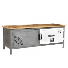 Kovový TV stolek Hometown