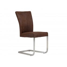 Židle z broušené umělé kůže Shot