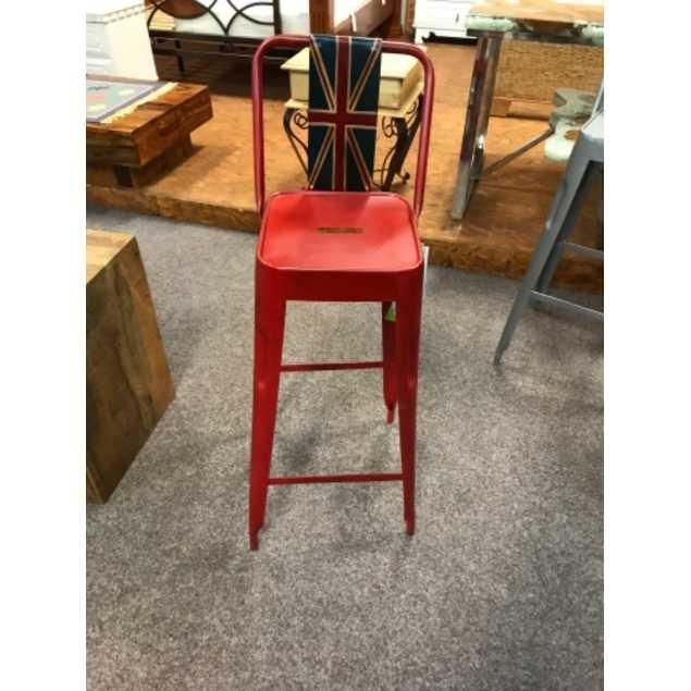 Barová židle KOV - LIKVIDACE VZORKŮ