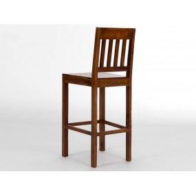 Elegantní barová židle z palisandru Kashmir