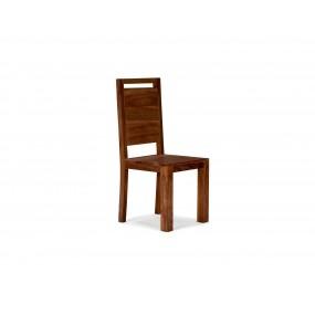 Židle Sheesham tmavá - LIKVIDACE VZORKŮ