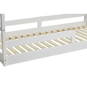 Bílá jednolůžková postel Marckeric Kiwi, 90 x 190 cm