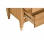 Komoda se 4 zásuvkami z masivního borovicového dřeva Marckeric Mia, 46 x 83 cm