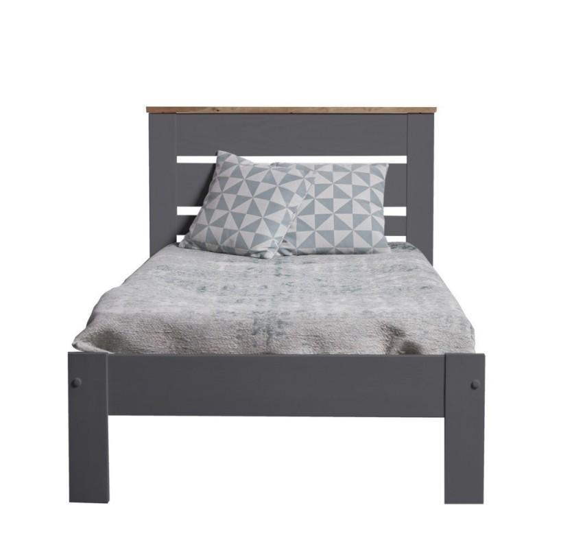 Šedá dětská postel Jayde