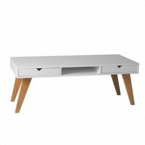 Bílý konferenční stolek Marckeric Gaudi