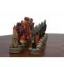 Stolek na šachy s figurkami Oxford