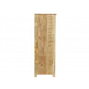 Vysoká komoda z mangového dřeva Puma