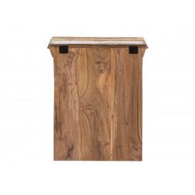 Závěsná skřínka z recyklovaného dřeva Melbourne