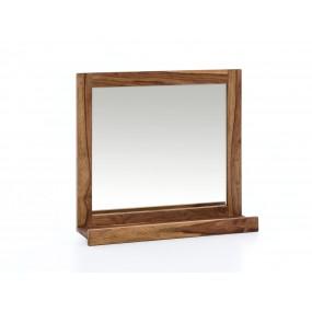 Dřevěné zrcadlo z palisandru Kao