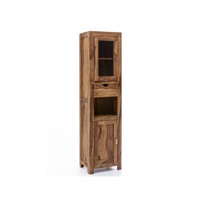 Vysoká skřínka do koupelny z palisandru Kao
