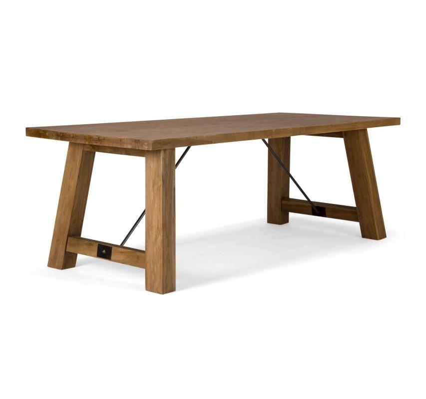 Masivní jídelní stůl z teaku Indika