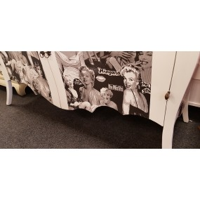 Komoda Marilyn Monroe Virginie - LIKVIDACE VZORKU