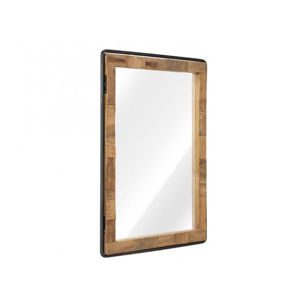 Zrcadlo z teaku OPAKA