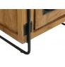 Noční stolek z masivního teaku OPAKA