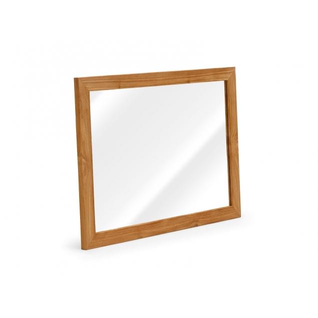 Koupelnové zrcadlo z teaku Aqua