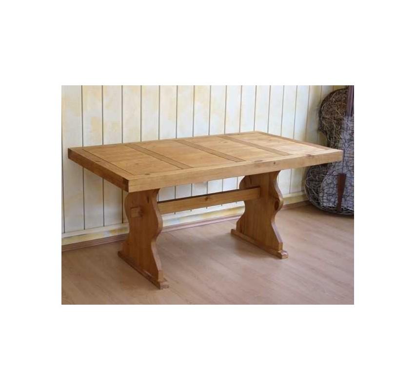 Mexický jídelní stůl 160x90 z masivního dřeva Hacienda