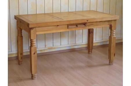 Dřevěný jídelní stůl 140x75 Hacienda