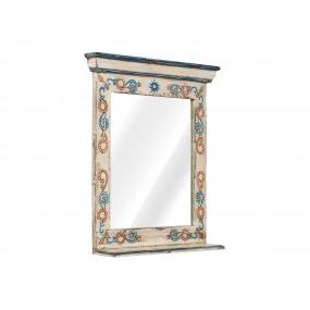 Ručně malované zrcadlo do koupelny z manga Shiva