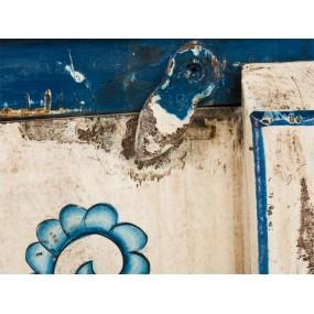 Ručně malovaná nástěnná skříňka do koupelny Shiva