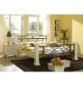 Bílý noční stolek dřevěný Constantin
