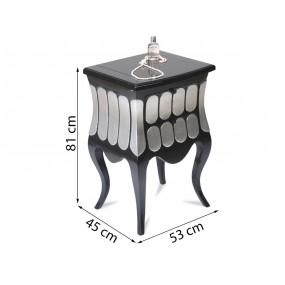 Toaletní stolek Pomp - SKLADEM
