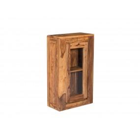 Nástěnná skříňka do koupelny z palisandru Preston