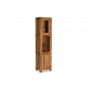 Vysoká skříňka do koupelny z palisandru Preston