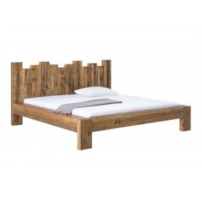 Dřevěná postel z masivní borovice Canterburry 180x200