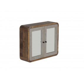 Nástěnná skříňka se zrcadly Tringle