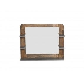 Koupelnové zrcadlo s policemi Tringle