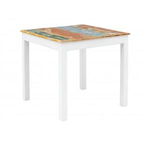 Jídelní stůl z mangového dřeva Melbourne 80x80