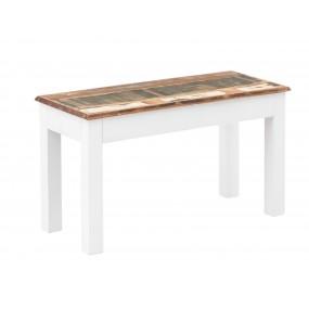 Barevná lavice z recyklovaného dřeva Melbourne