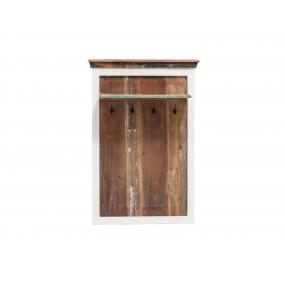 Nástěnný věšák z recyklovaného dřeva Melbourne