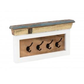 Nástěnná věšák na klíče z recyklovaného dřeva Melbourne