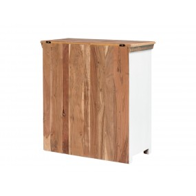 Barevná komoda z recyklovaného dřeva Melbourne