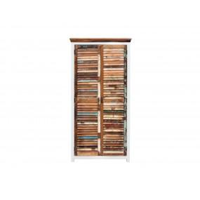 Šatní skříň z recyklovaného dřeva Melbourne